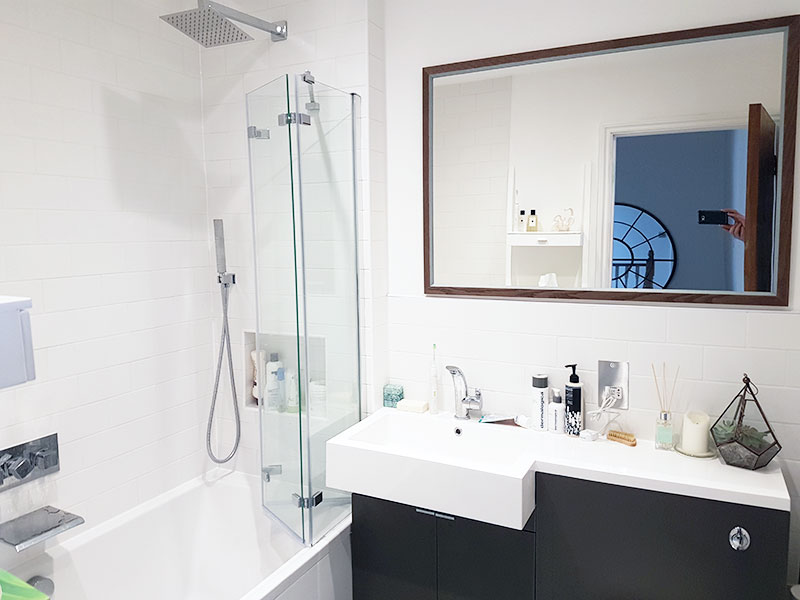 Bathroom Refurbishment for a regular client in SW11 3 London.
